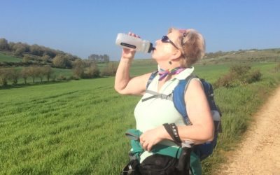 How to Keep Hydrated When Walking in Hot Weather